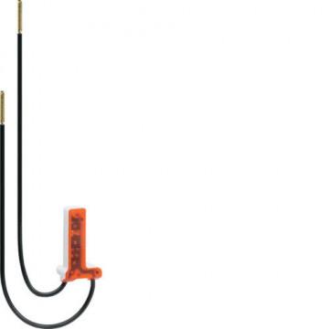 WUZ687 - cubyko - LED encarnado 12-28V, com fios HAGER EAN:3250617032537