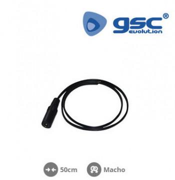 001504520 - Tiras de LED Union e fontes de alimentação macho de 50 cm 8433373045200