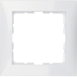10118989 - S.1 - quadro x1, branco BERKER EAN:4011334276838