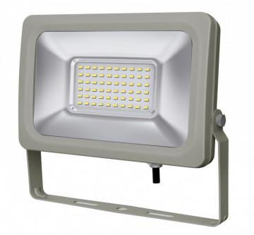 17135.3060 - Projector Exterior Slim 30W 230Vac 6000K 2000Lm alumínio Gris (C/Lig.) - Quant. fornecida = 1 un