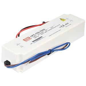 202186.363 - Drive CC Led Mean Well IP67 48-96Vdc 1050mA LPC-100 - Quant. fornecida = 1 un