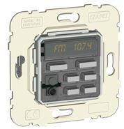 21370 - COMANDO DE 1 CANAL ESTÉREO C/FM, DESPERT E IR EFAPEL 5603011558031