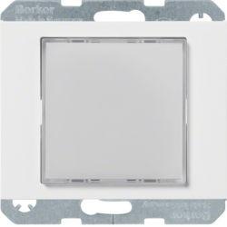 29527009 - K.1/K.5 - Sinaliz. LED verde/enc, branco BERKER EAN:4011334414537