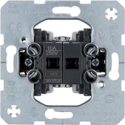 303520 - Comutador duplo p/ estores, 10A 250V BERKER EAN:4011334023371