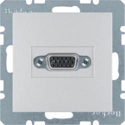 3315411404 - S.1/B.x - tomada VGA paraf., alum mate BERKER EAN:4011334330400