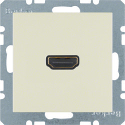 3315438982 - S.1/B.x - tomada HDMI ficha 90º, creme BERKER EAN:4011334341819