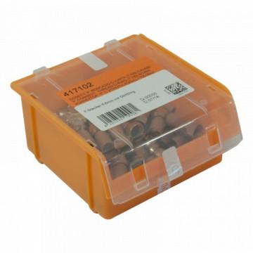 """417102 -8424450190081 TELEVES - Conector """"F"""" roscar c/""""O Ring"""" para T100, Caixa de plástico"""