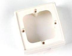5442 -8424450054420 TELEVES - Suplemento de parede p/tomada superfície Branco