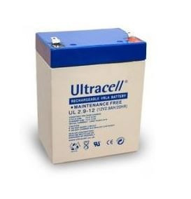 Bateria Chumbo 12V 2,9Ah (79 x 56 x 99 mm) - Ultracell