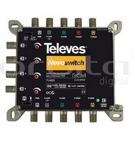 "714501 -8424450172711 TELEVES - Multiswitch 5x5x4 ""F"" Terminal/Cascata"