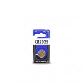 9000010 - 4976680200664 Bateria de lítio FUJITSU CR2025 3V, Blister 1 unid.