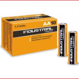 9000132 - 5000394131217 Caixa 10 Baterias Alcalinas Duracell Industrial LR6 (AA)