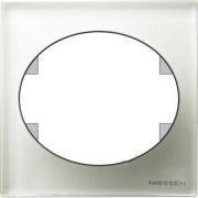 ABB 5571 CB Espelho simples cristal branco Tacto
