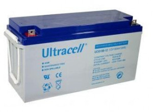 Bateria de Gel 12V 150Ah (485 x 170 x 240 mm) - Ultracell