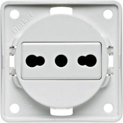 BERKER - 962512502 - Integro - tomada Italia 16A, branco mate 23