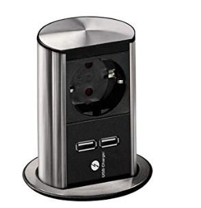 ELEVADOR 1X SHUKO+ 2 CARREGADOR USB 5.2V/2.15A