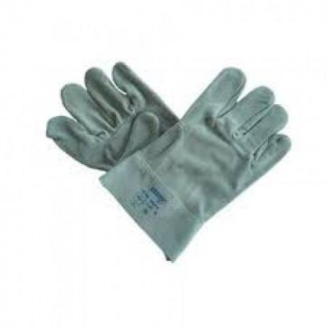Equipamentos de Protecção - 5761 - Luva Crute Cinza Manguito 7cm