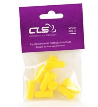 Equipamentos de Protecção - 6094 - Blister c/5 Pares Tampões Descartavéis s/Cordão