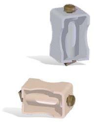 JSL Material Fixacao Abraçadeiras para calha (montagem em guia C11) -