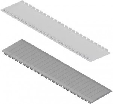 JSL Quadros de Distribuição Tampa cobre-módulos universal para todo tipo de quadros -