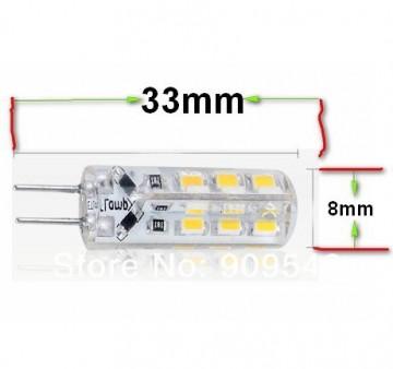 Lâmpada LED 12V 1W G4 Branco Quente