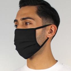 Máscara Lavável Certificada 4 camadas Nível 3 PRETO 25 lavagens