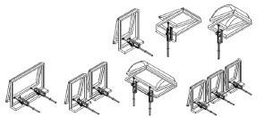Motor para para clarabóia, janela basculante ou alçapão - PISTON750S-55 AUTOMATEASY