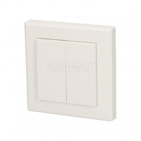 OR-SH-1711 ORNO - Interruptor duplo saliente wireless Smart Living
