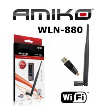 Pen Wireless 5dB p/ Receptores ALMA e AMIKO REF: WLN-880