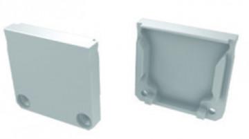 TP122 - Topo Plastico Branco P/Perfil DUBLIN - Quant. fornecida = 1 un