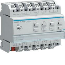 TXA628C - Actuador estores/pers. 8 canais 230V KNX HAGER EAN:3250616048744