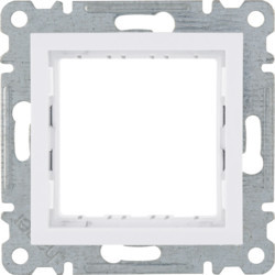 WL2510 - lumina 2 Suporte 45x45, branco HAGER EAN:8694407001443