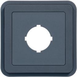WNA038 - cubyko - Obturad.pré-corte Ø22,5mm, cinz HAGER EAN:3250617174381