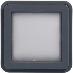 WNA455 - cubyko - Adaptador 45x45 KNX, cinzento HAGER EAN:3250617175654