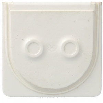 WNA690B - cubyko - Entrada p/ 2 cabos, branco HAGER EAN:3250617175906