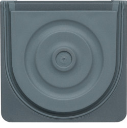 WNA691 - cubyko - Entrada p/ tubo/cabo, cinzento HAGER EAN:3250617174916