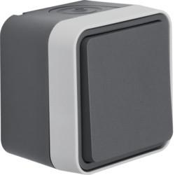 WNC022 - cubyko s - Botão inversor, cinzento HAGER EAN:3250617170222