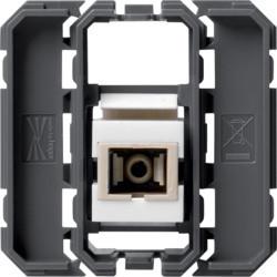 WXF645 - gallery Tomada fibra óptica, SC HAGER EAN:3250617198950