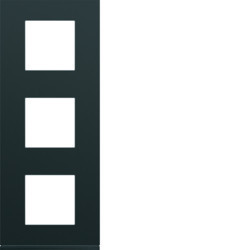 WXP0243 - gallery 3x2M Quadro x3 vert. 71mm, preto HAGER EAN:3250617199476