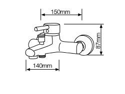 003702432 - TORNEIRA Misturador de banho Victoria Series 8433373024328