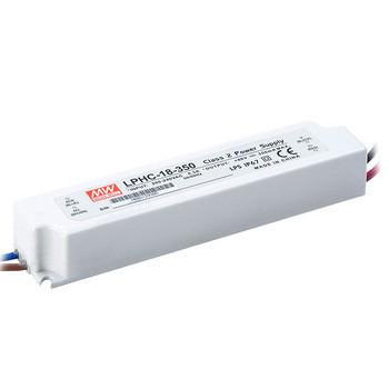 20286.41 - Drive CC Led Mean Well IP67 6-48Vdc 350mA LPHC-18 - Quant. fornecida = 1 un