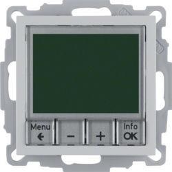20441404 - S.1/B.x - termóst. programável, alum mt BERKER EAN:4011334354666