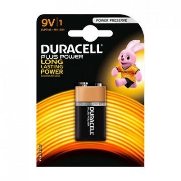 20453 - Blister 1 Pilha alcalina Duracell Power 6F22-9V