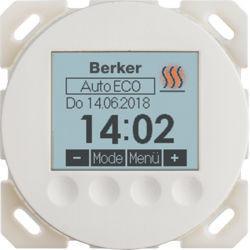 20462089 - R.x/R.c - termóst.ambiente progrm, branc BERKER EAN:4011334502999