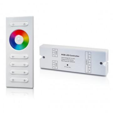 212217.1180 - Controlador RGB 12-24VDC 180W (12Vdc) c/ comando RF - Quant. fornecida = 1 un