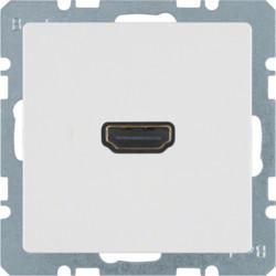 3315426089 - Q.x - tomada HDMI, branco BERKER EAN:4011334341734