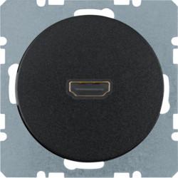 3315432045 - R.1/R.3 - tomada HDMI ficha 90º, preto BERKER EAN:4011334370987