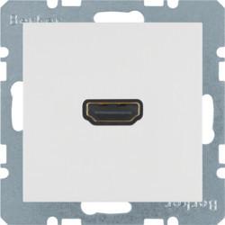 3315438989 - S.1/B.x - tomada HDMI ficha 90º, branco BERKER EAN:4011334341826