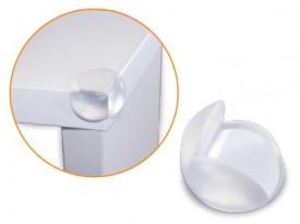 3802790 - 8433373027909 Conjunto 4 protetores-cantos de silicone transparente