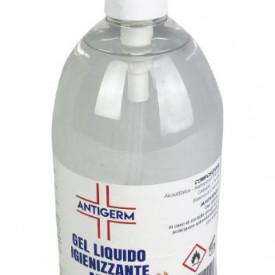 Álcool em Gel Desinfetante de Mãos (1L) c/ Dispensador